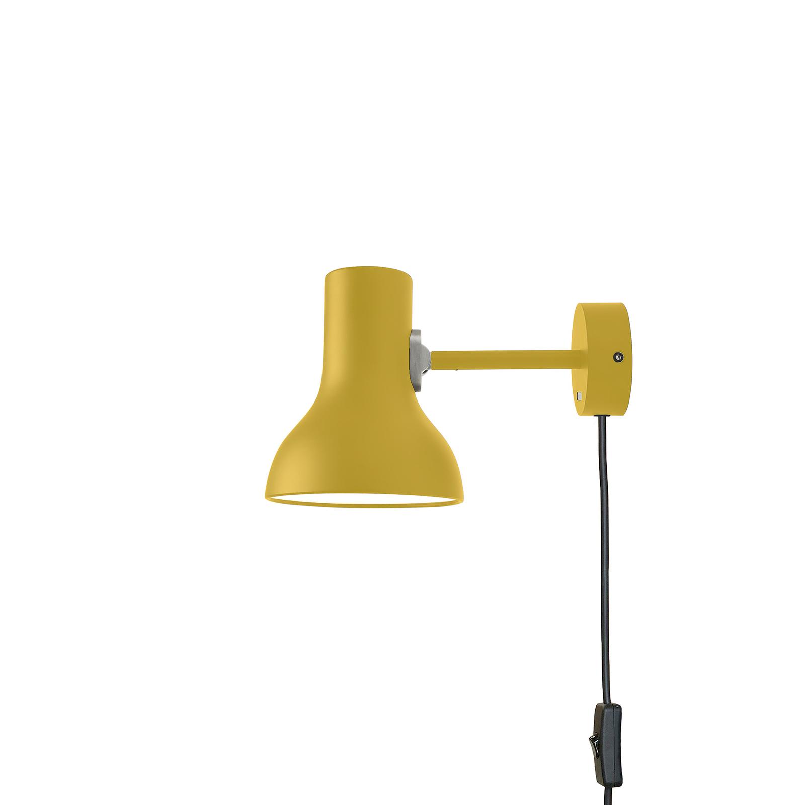 Anglepoise Type 75 Mini applique prise jaune ocre