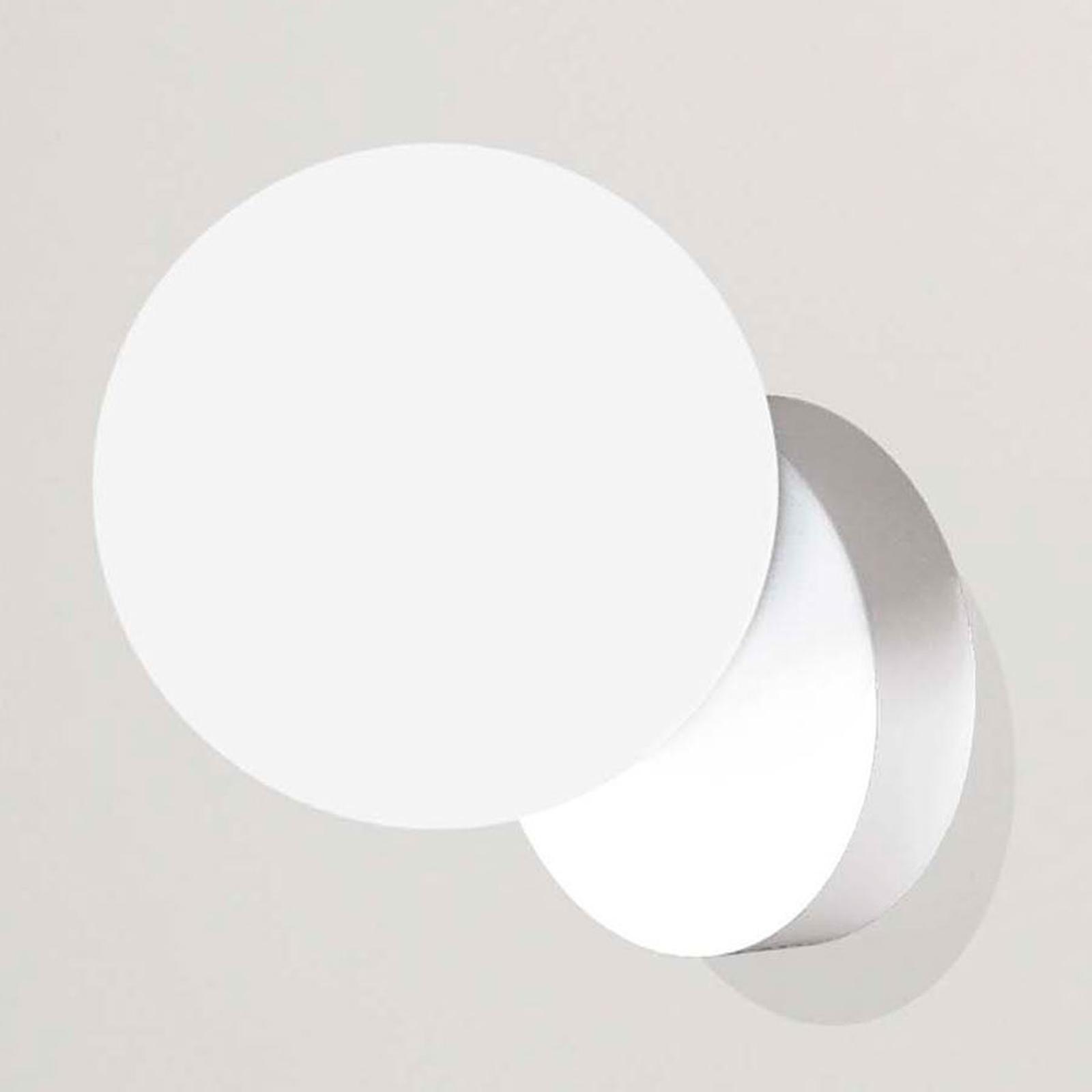 Seinävalaisin Tin Tin, 1-lamppuinen, valkoinen