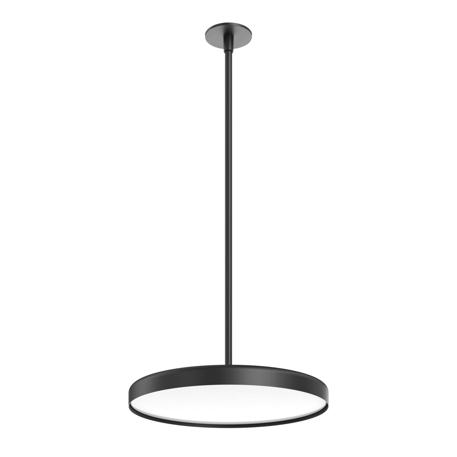 FLOS Infra-Structure C1 LED-Deckenlampe schwarz
