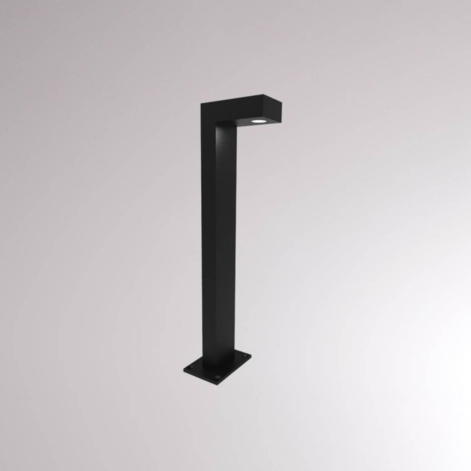 LOUM Aliar LED-Wegeleuchte schwarz