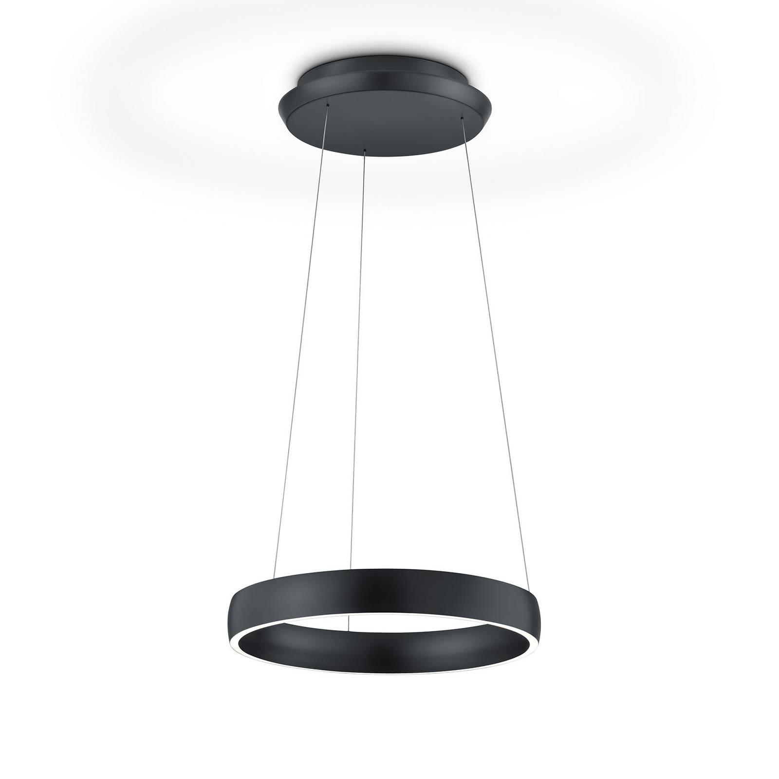 Lampa wisząca LED Sara-40 czarna, 2200-3000K
