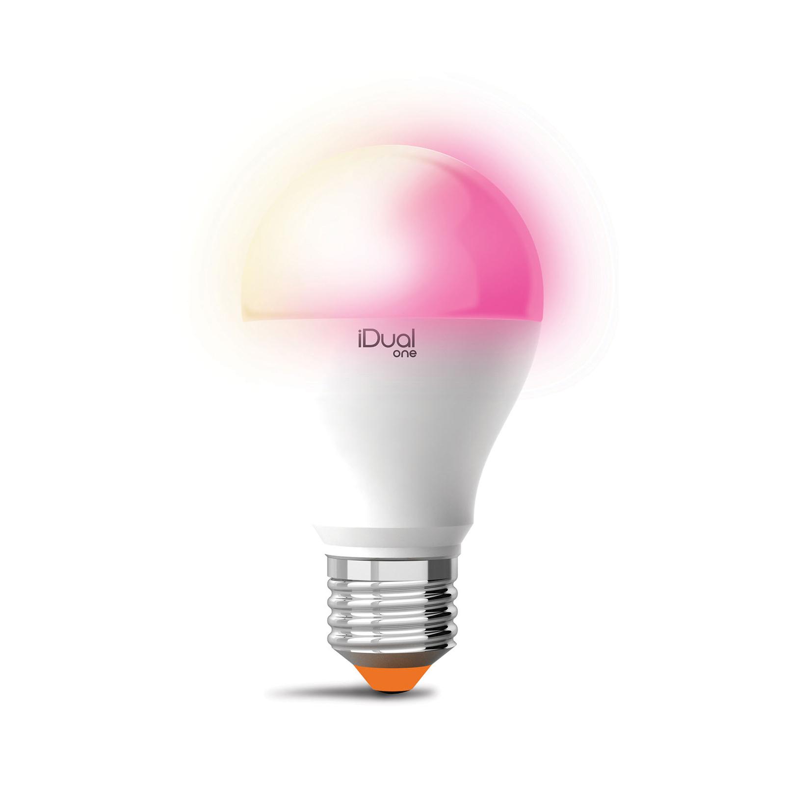 iDual One LED-pære E27 A60 9,5W RGBW