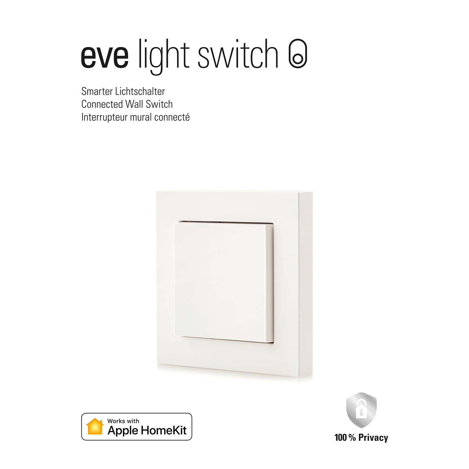 Eve Light Switch Smart Home Wandschalter