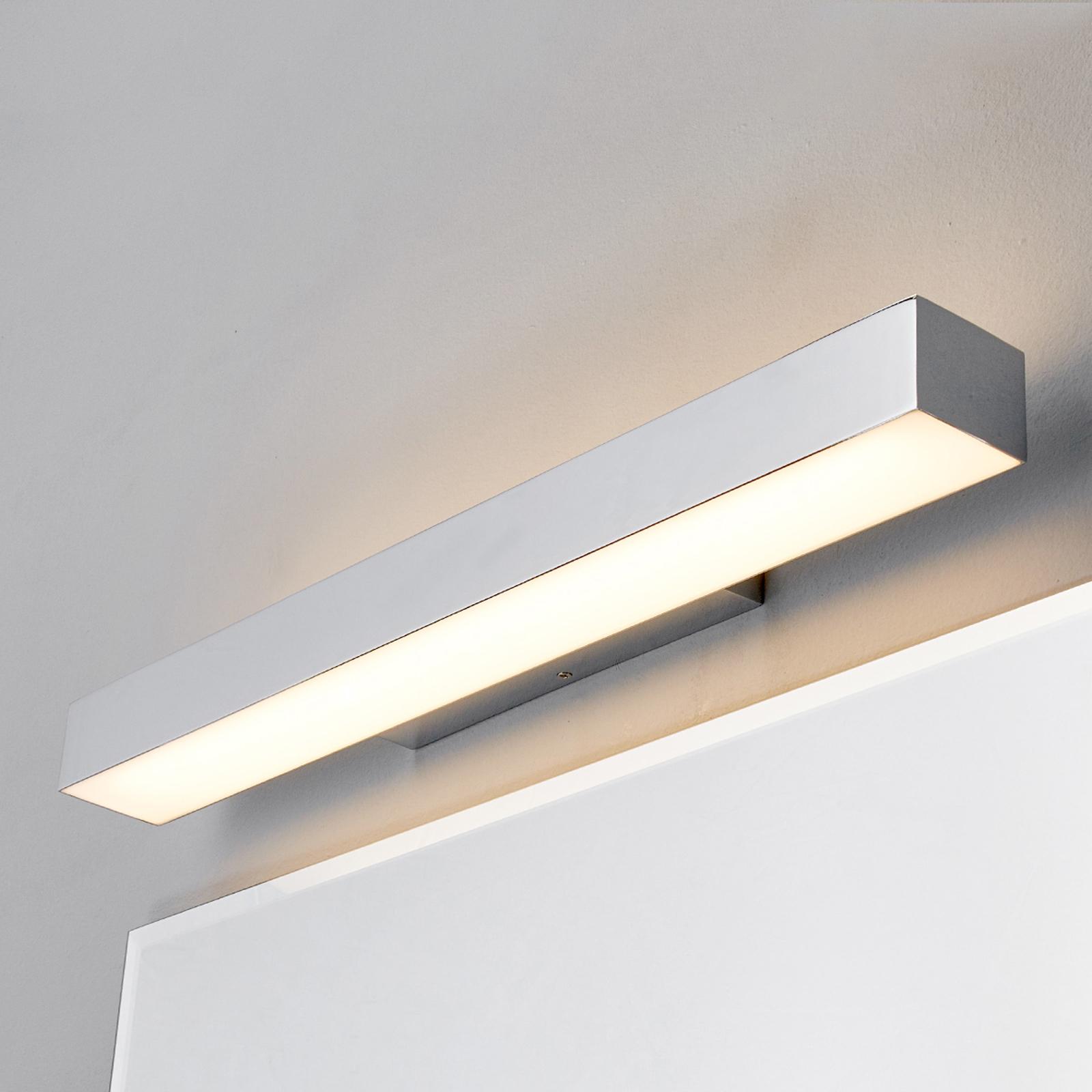 Kiana - koupelnové světlo nástěnné s LED v chromu
