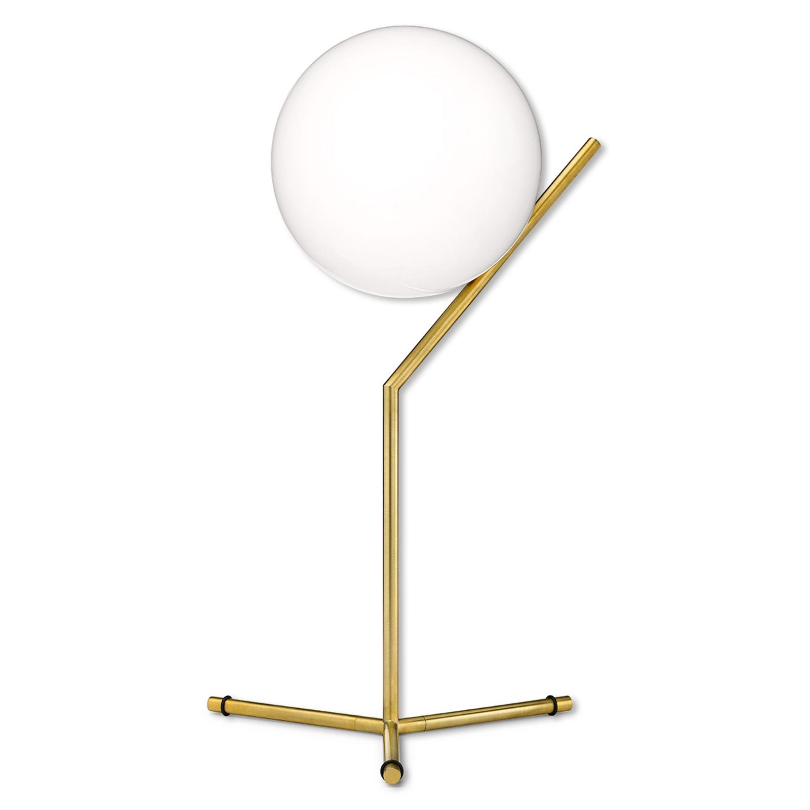 IC T1 - Lampada da tavolo FLOS, ottone spazzolato