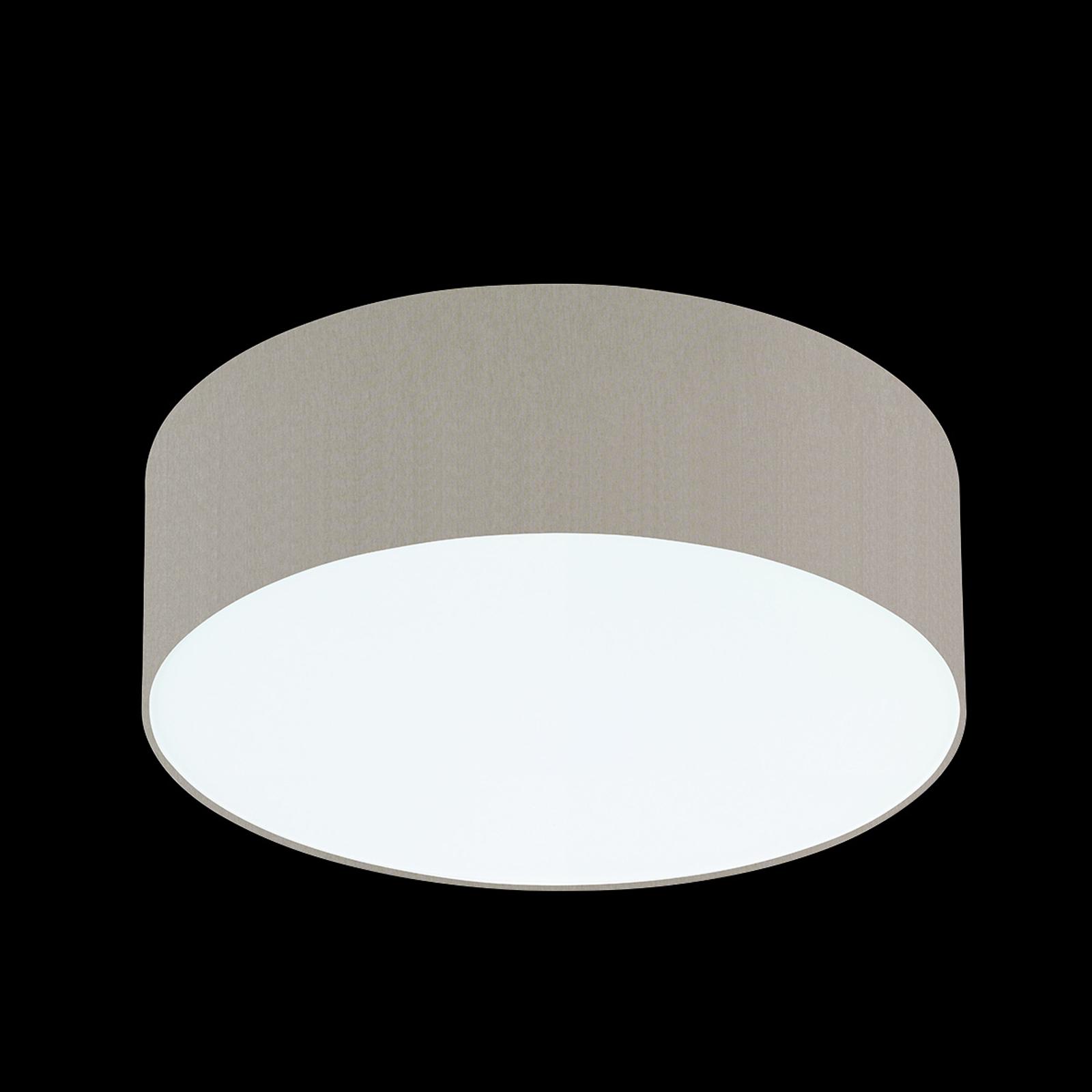Melangebruine plafondlamp Mara, 50 cm
