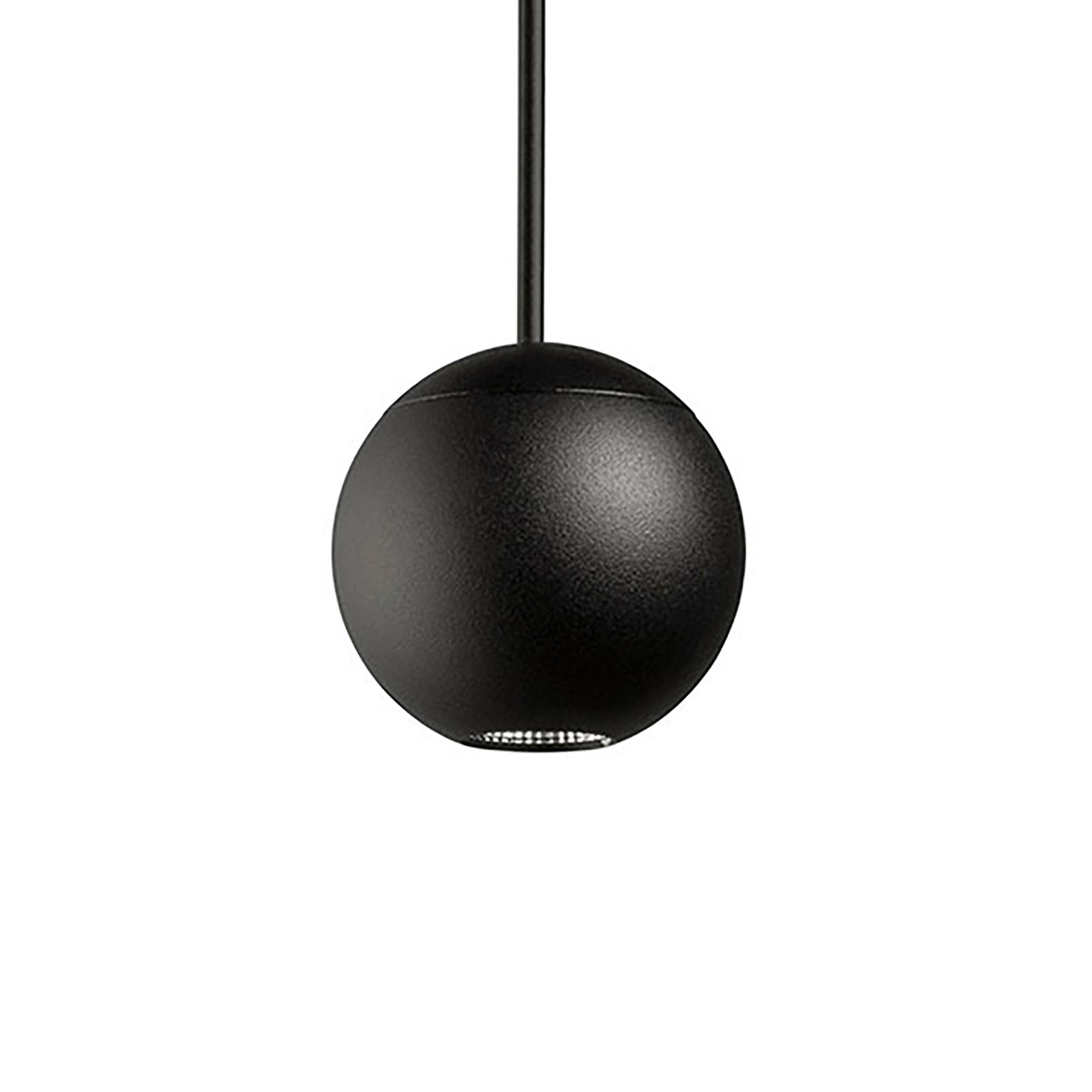 LEDS-C4 Punto Single Surfaced Hängelampe schwarz