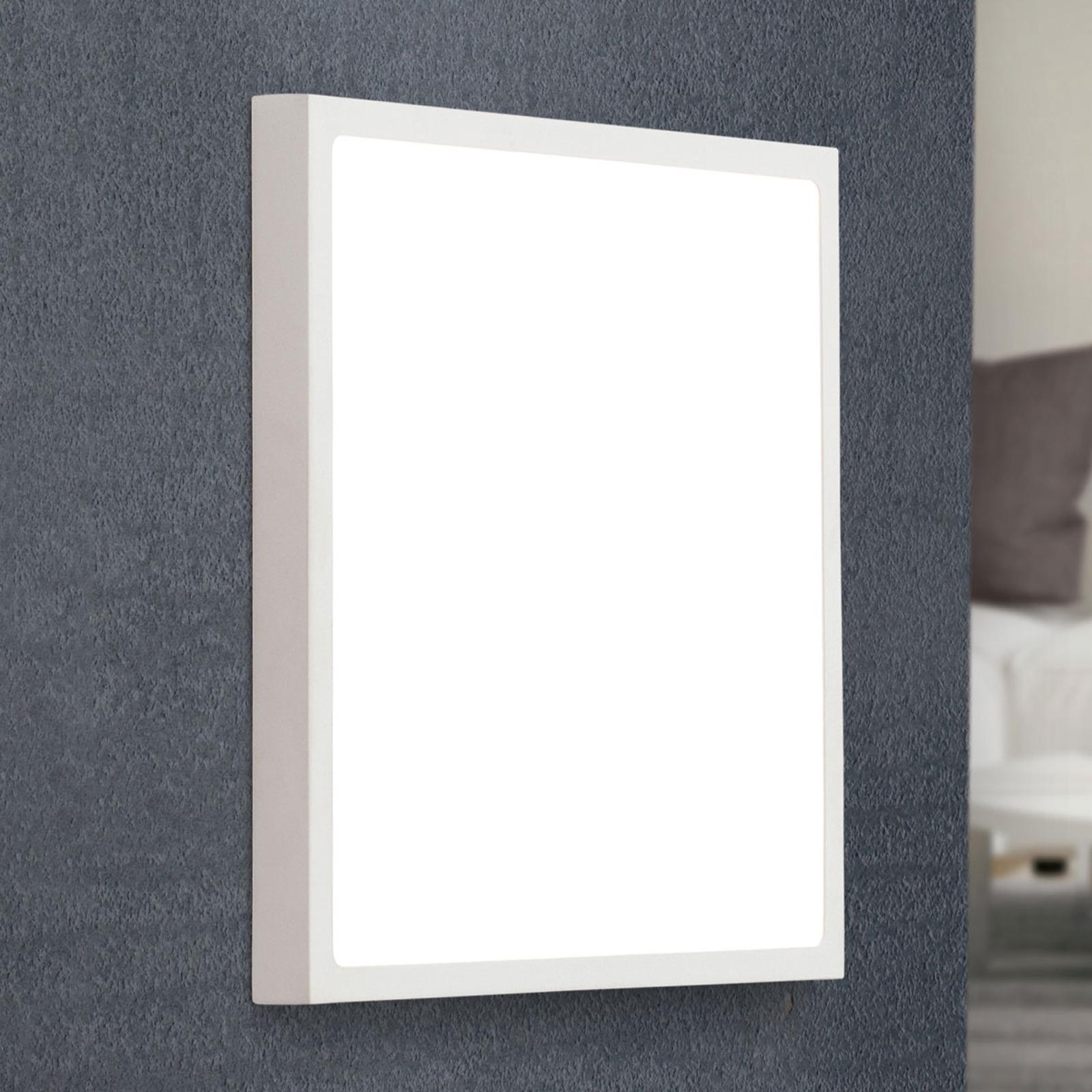 Lampa sufitowa LED Vika, kwadratowa, 30 cm