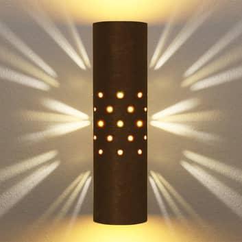 Menzel Solo lampa ścienna brązowo-czarna