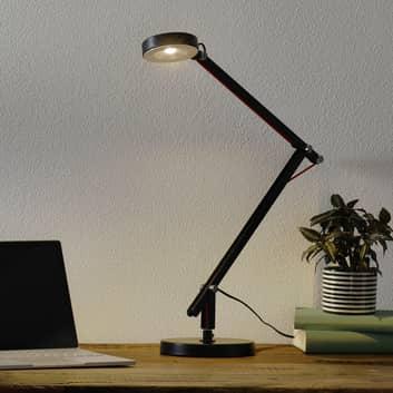 Schwarze LED-Multifunktionsleuchte Amsterdam