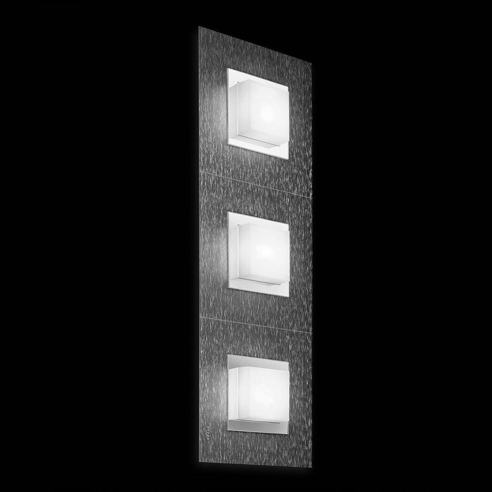 Produktové foto GROSSMANN GROSSMANN Basic LED nástěnné světlo, 3zdr antracit