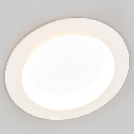 Lysfarve vælges - LED indbygningslampe Piet IP44