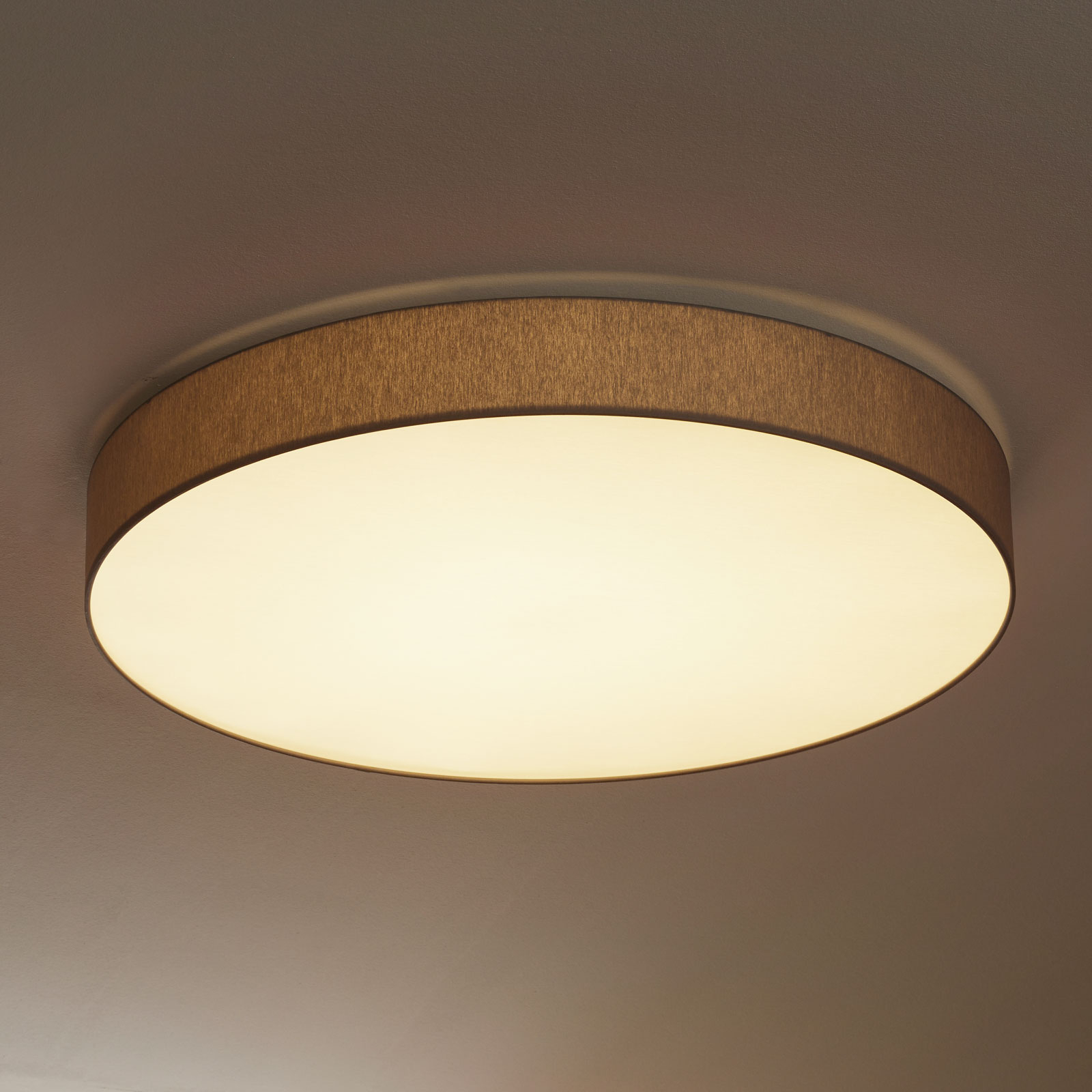 Runde LED-Deckenlampe Luno mit Dimmfunktion