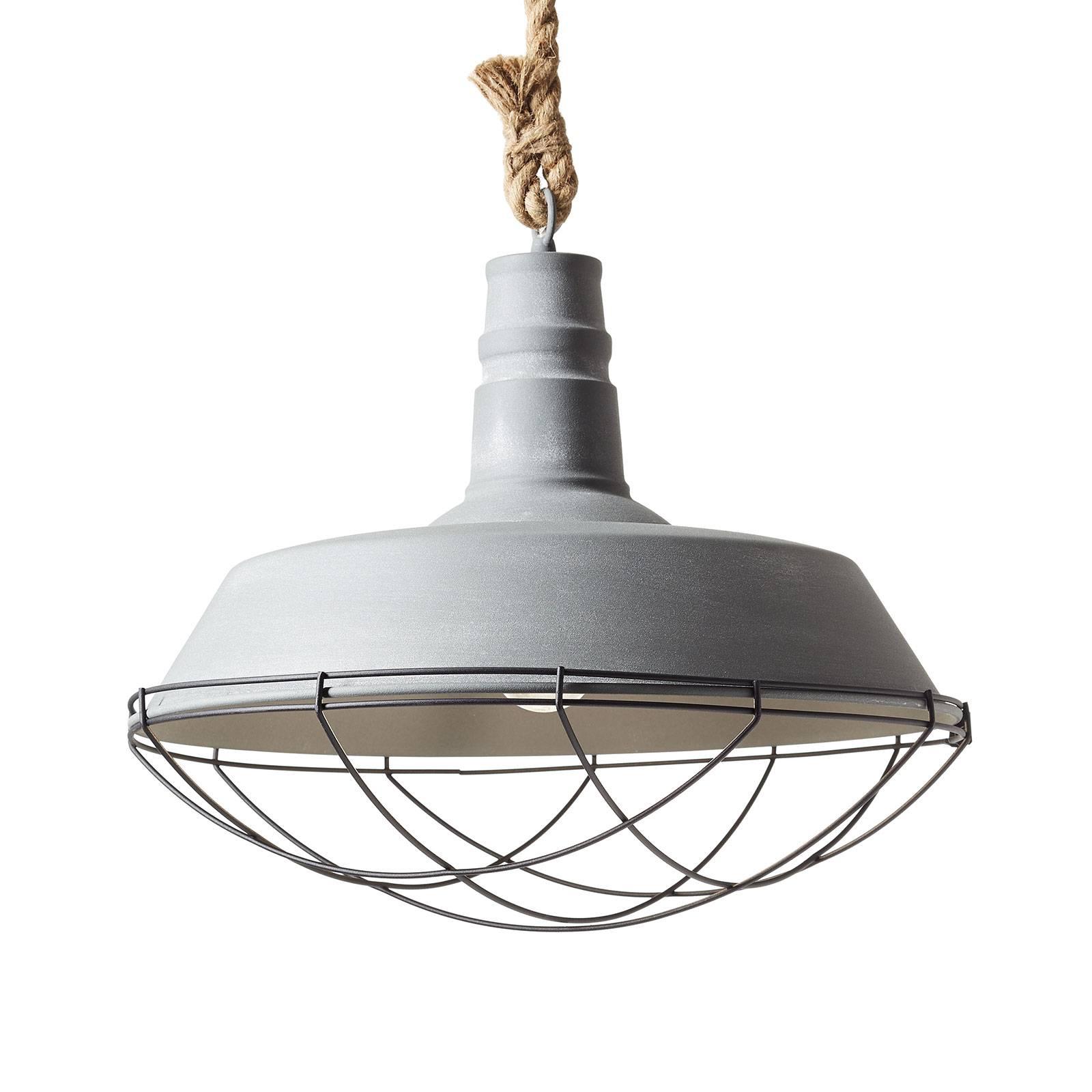 Lampa wisząca Rope w stylu industrialnym