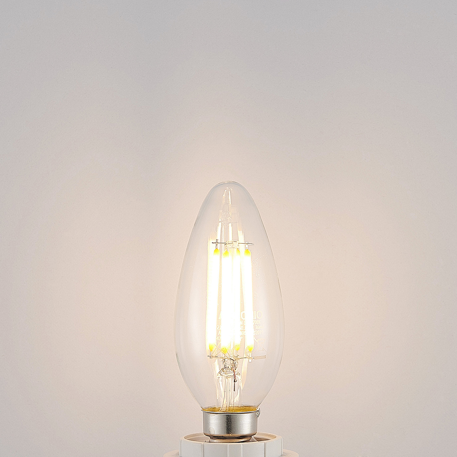LED-pære E14 filament 4W 2 700K 3-step-dimmer