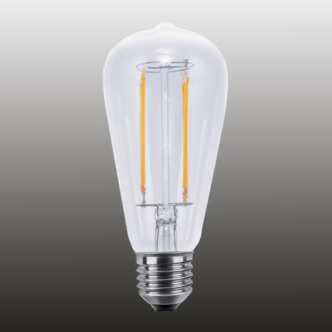 E27 6W LED-belysning med speilhode ww kan dimmes