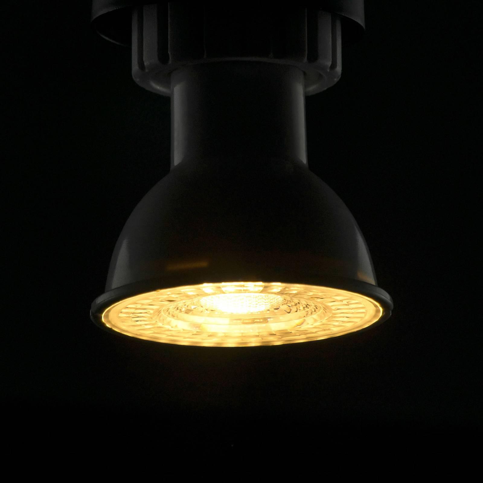 SEGULA reflector LED bulb GU10 6W 3,000K dim 60°