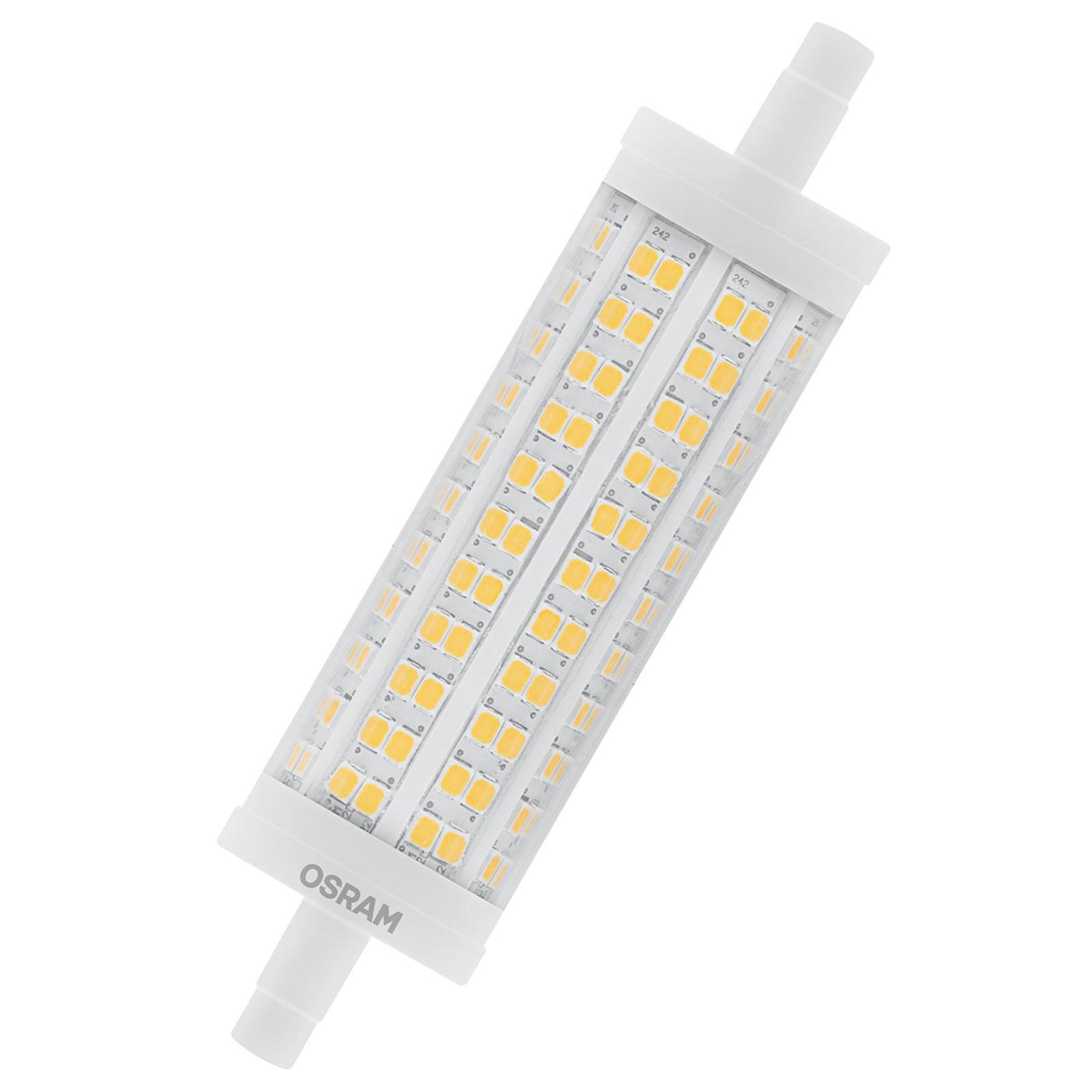 OSRAM LED-stav R7s 17,5 W varmhvit 2452 lm