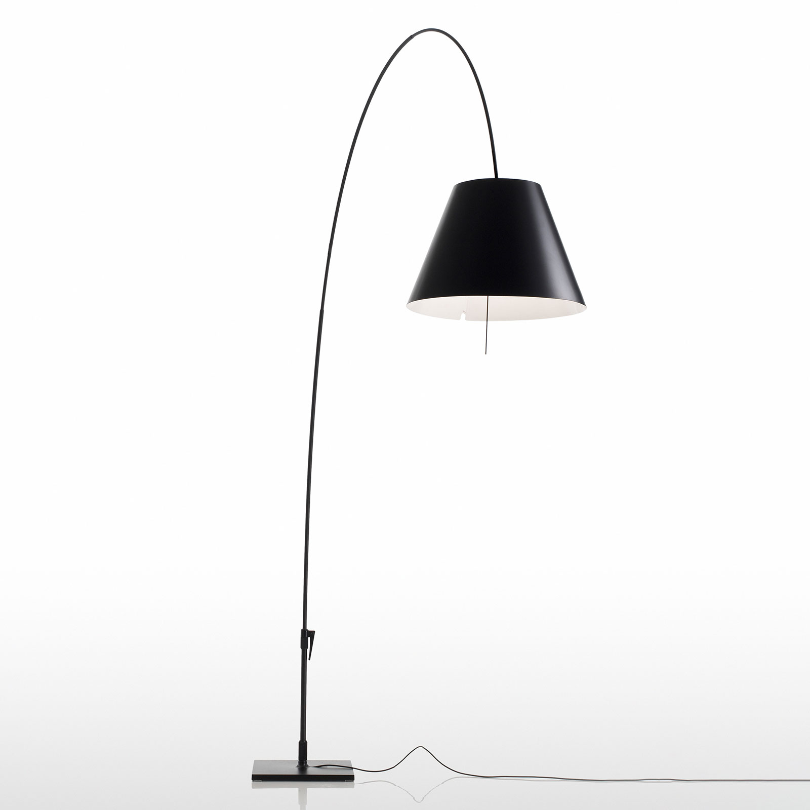 Luceplan Lady Costanza lampa stojąca D13E d czarna