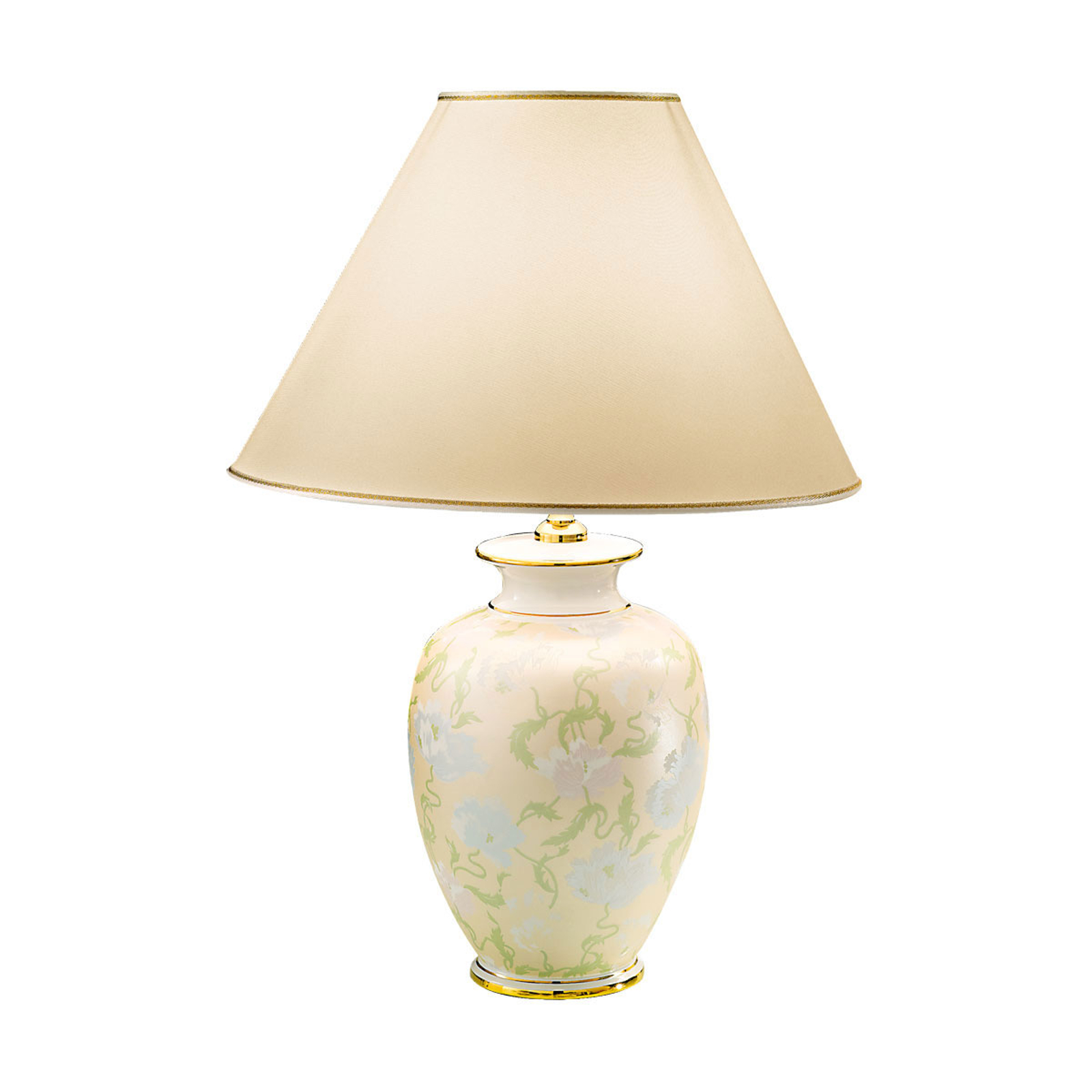 Lampe à poser Giardino Panse, à la main, Ø 40cm