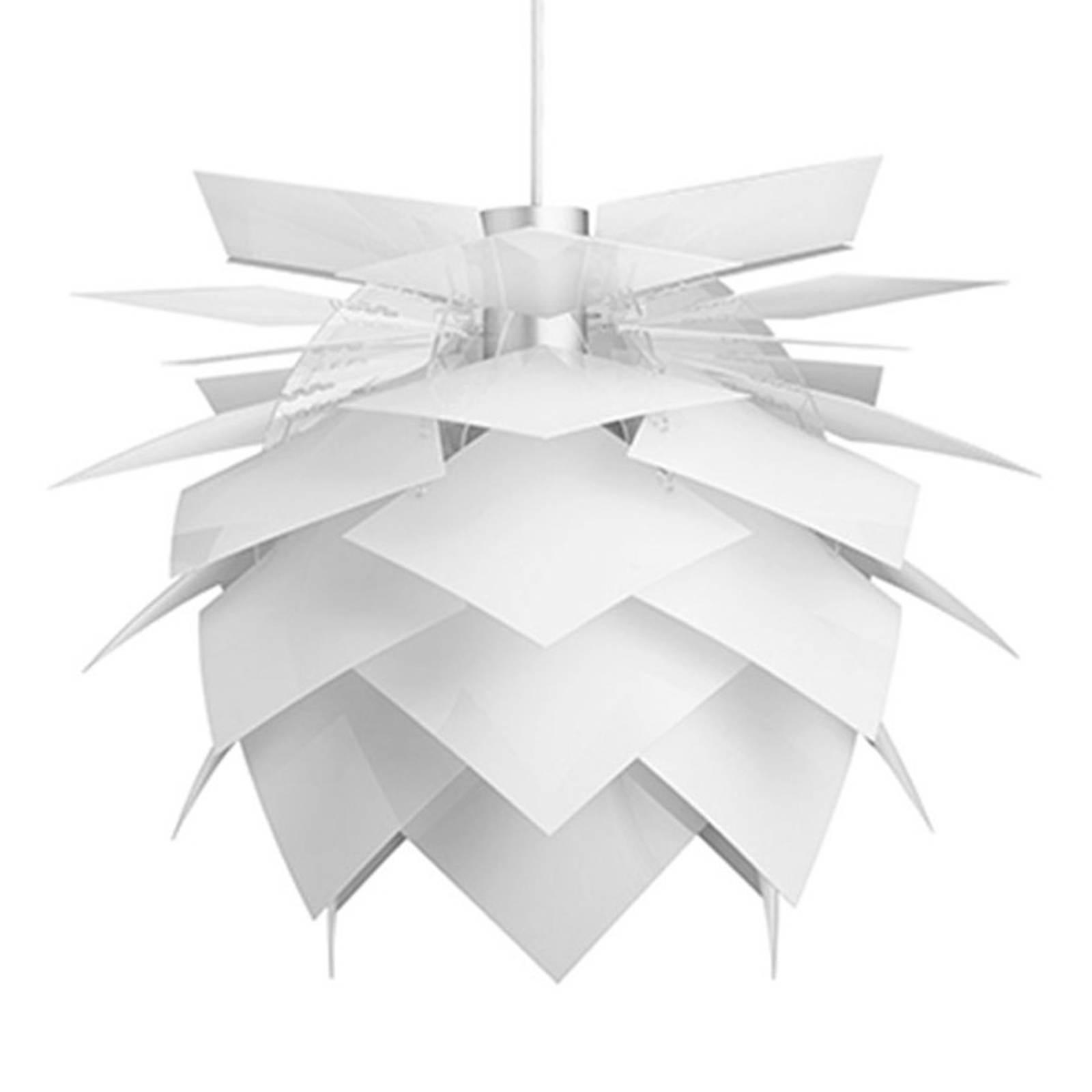 Dyberg Larsen PineApple M Hängeleuchte Ø 45cm weiß