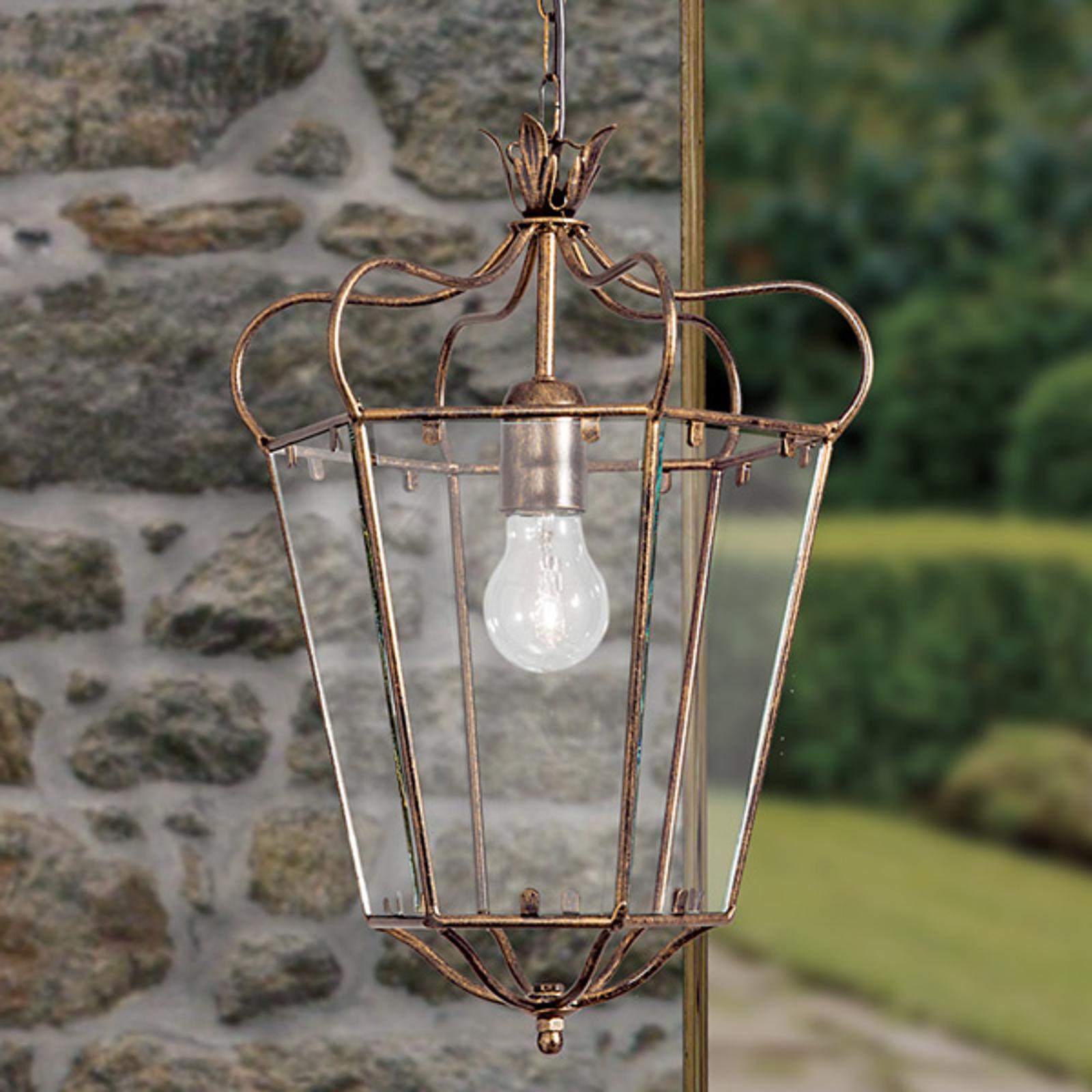 Superbe suspension FALOTTA style lanterne, 1 lampe