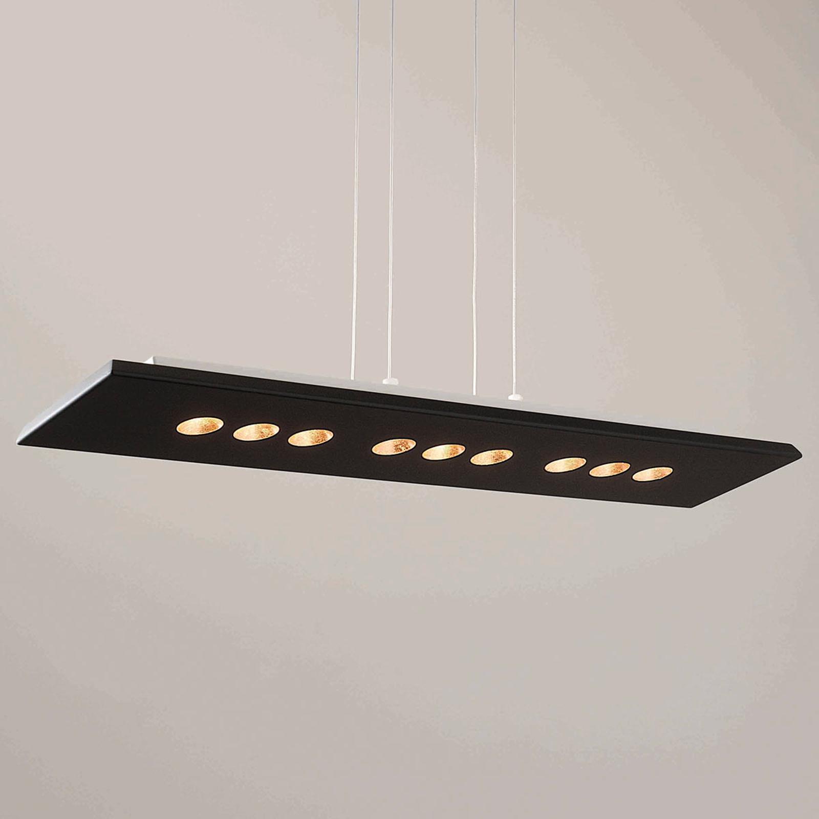ICONE Confort LED-Hängeleuchte in schwarz-gold