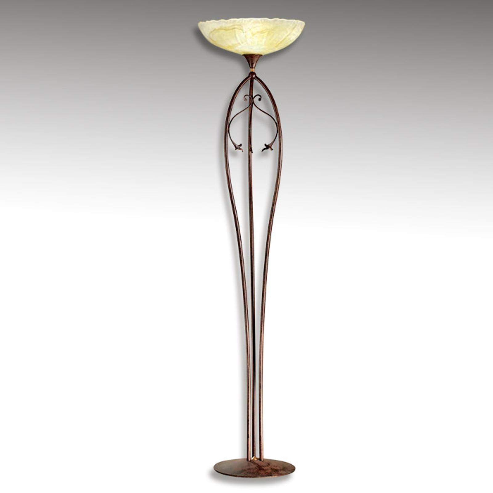 Lampa stojąca z podświetleniem sufitu Armelle