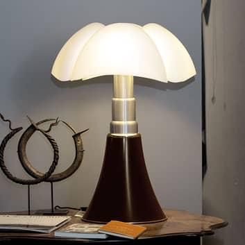 Bordslampa PIPISTRELLO, inställbar på höjden