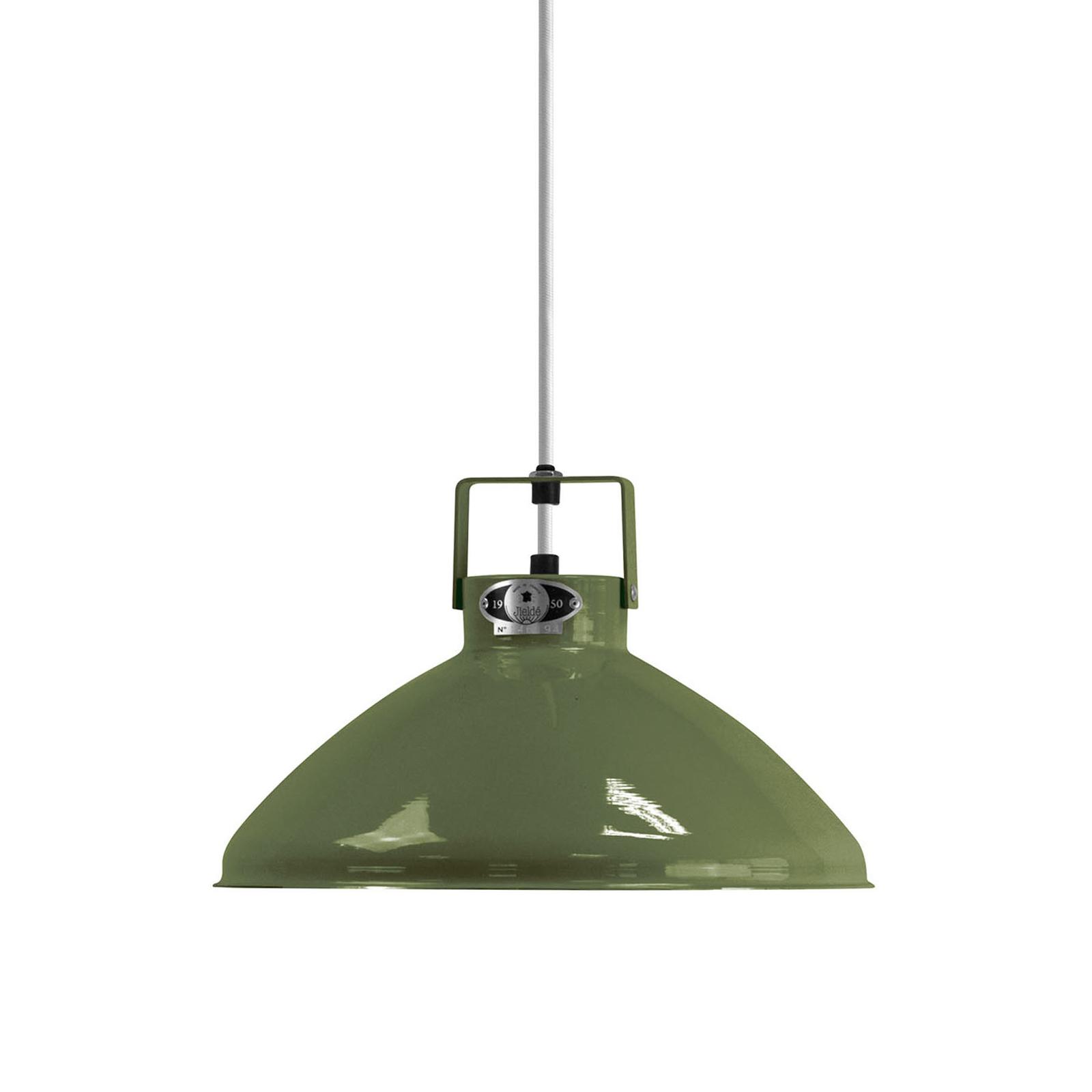 Jieldé Beaumont B240 hanglamp olijfgroen glanzend