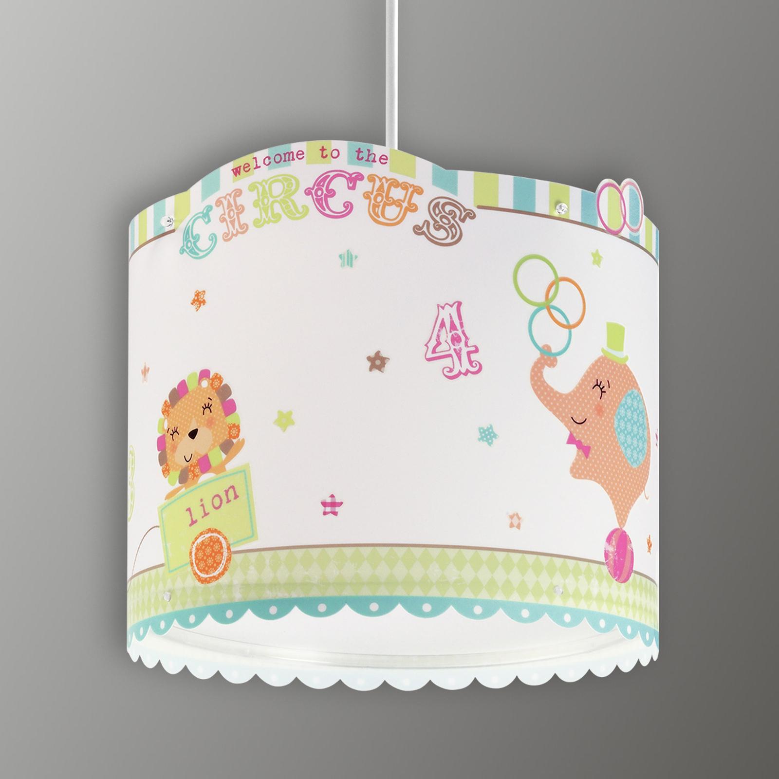 Circus - allegra lampada a sospensione per bimbi