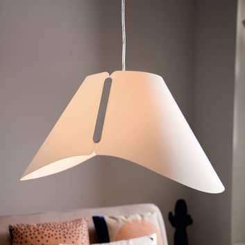 Ładna lampa wisząca Ecru Smart Volume