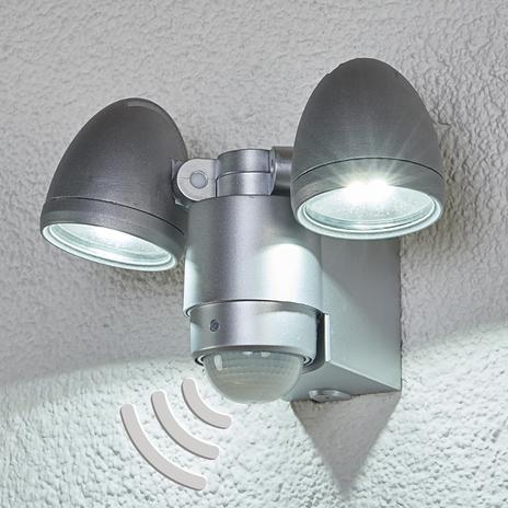 2-punktowy reflektor zewn. LED Todora z czujnikiem
