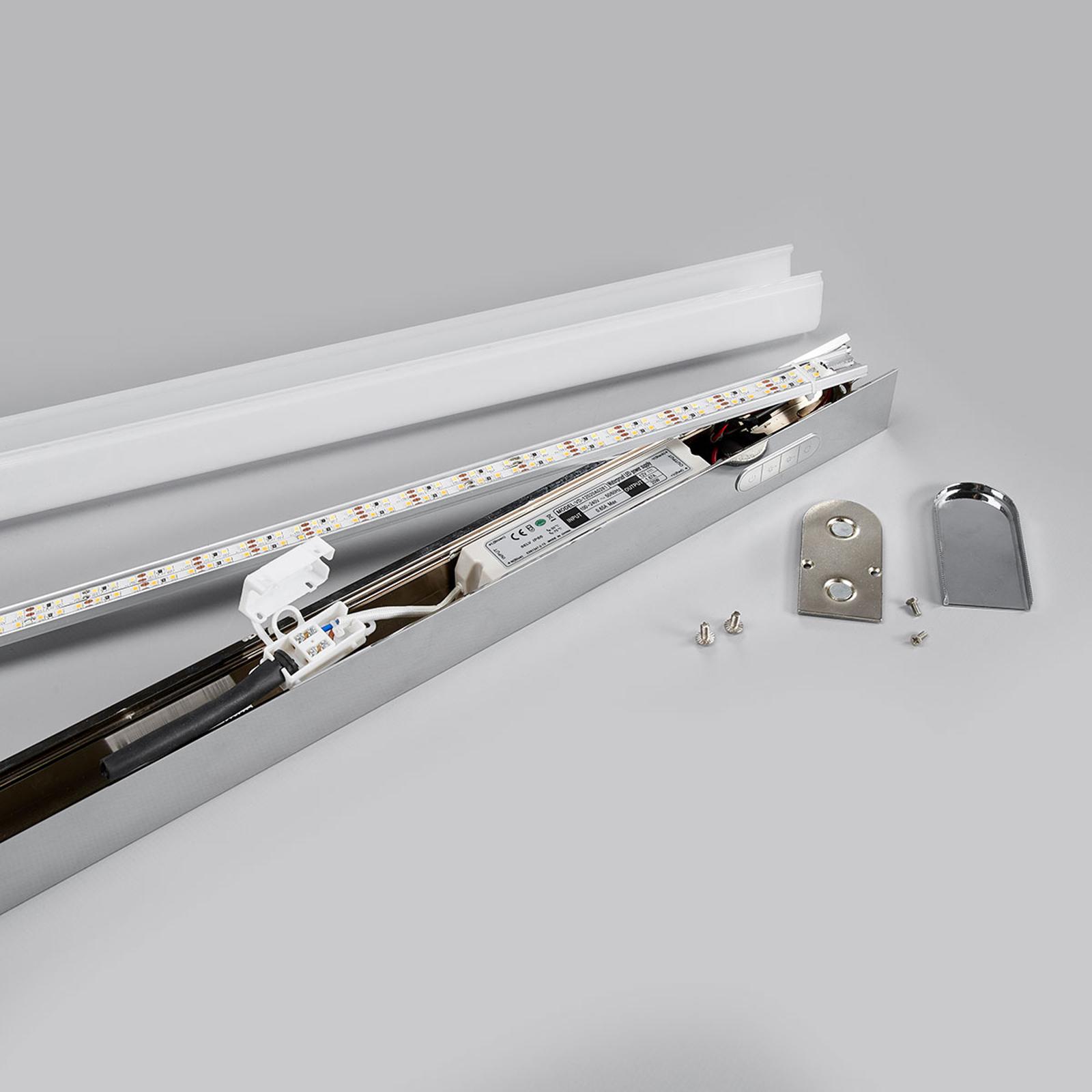 LED vägglampa Jesko bad 3000 6500K, 33 cm   Lamp24.se