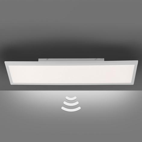 LED-Deckenlampe Fleet mit Bewegungsmelder 60x30 cm