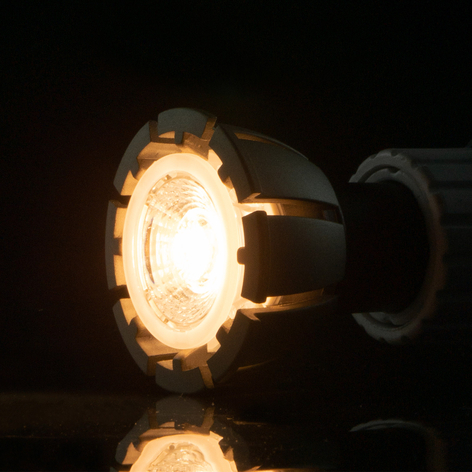 Reflector LED 40° GU10 7 W, ambient dimming
