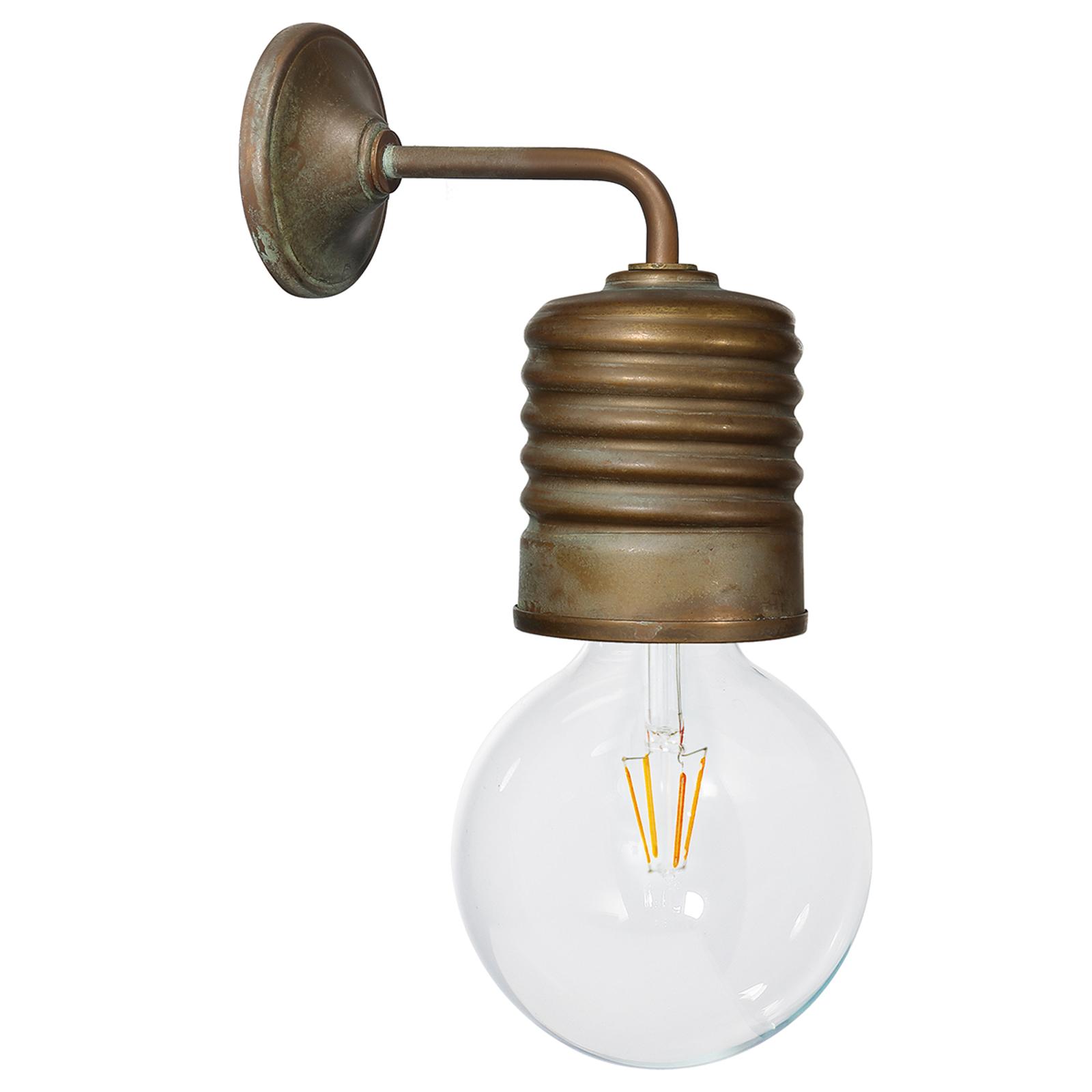 Lampa ścienna Orti, mosiądz antyczny