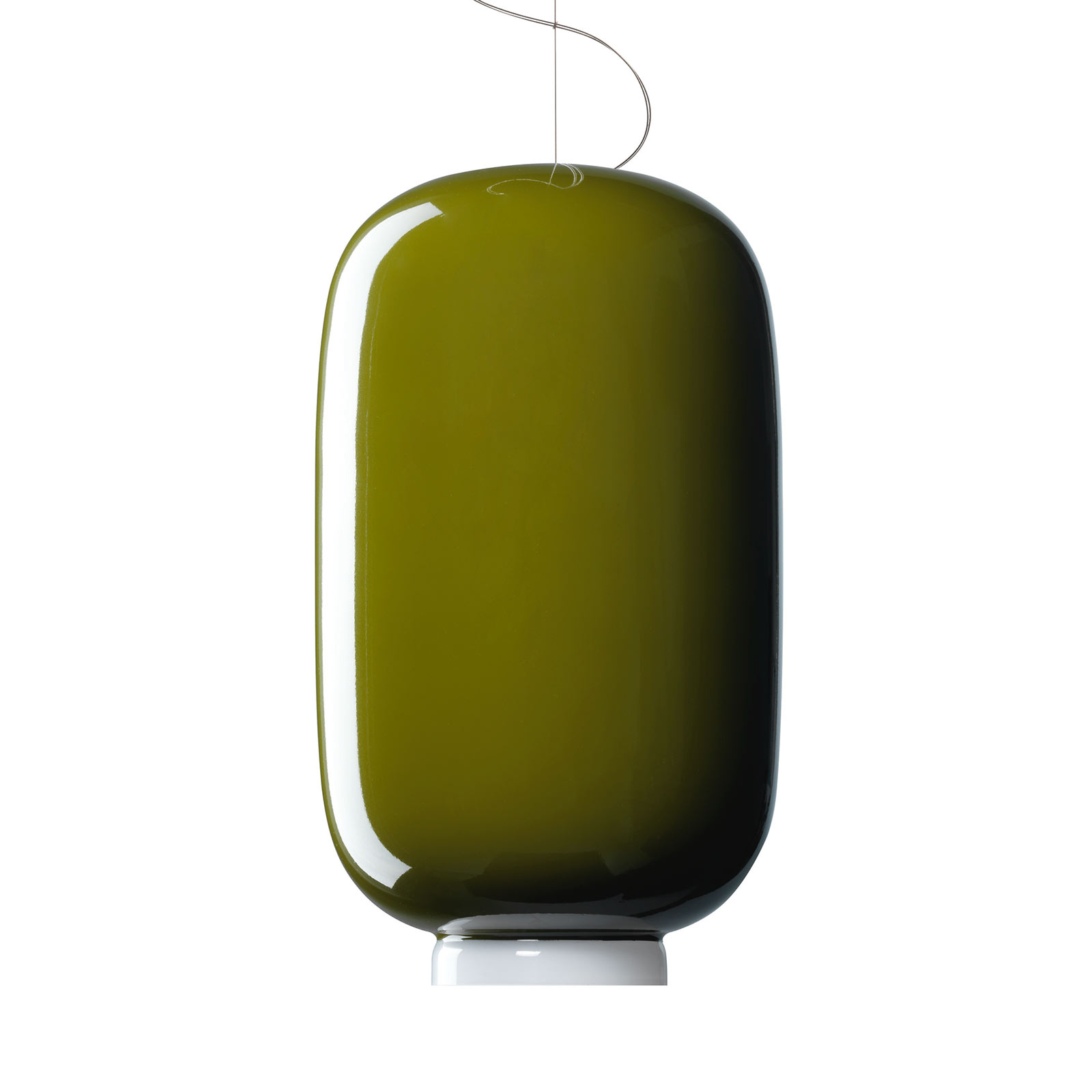 Foscarini Chouchin 2 LED-hængelampe, grøn
