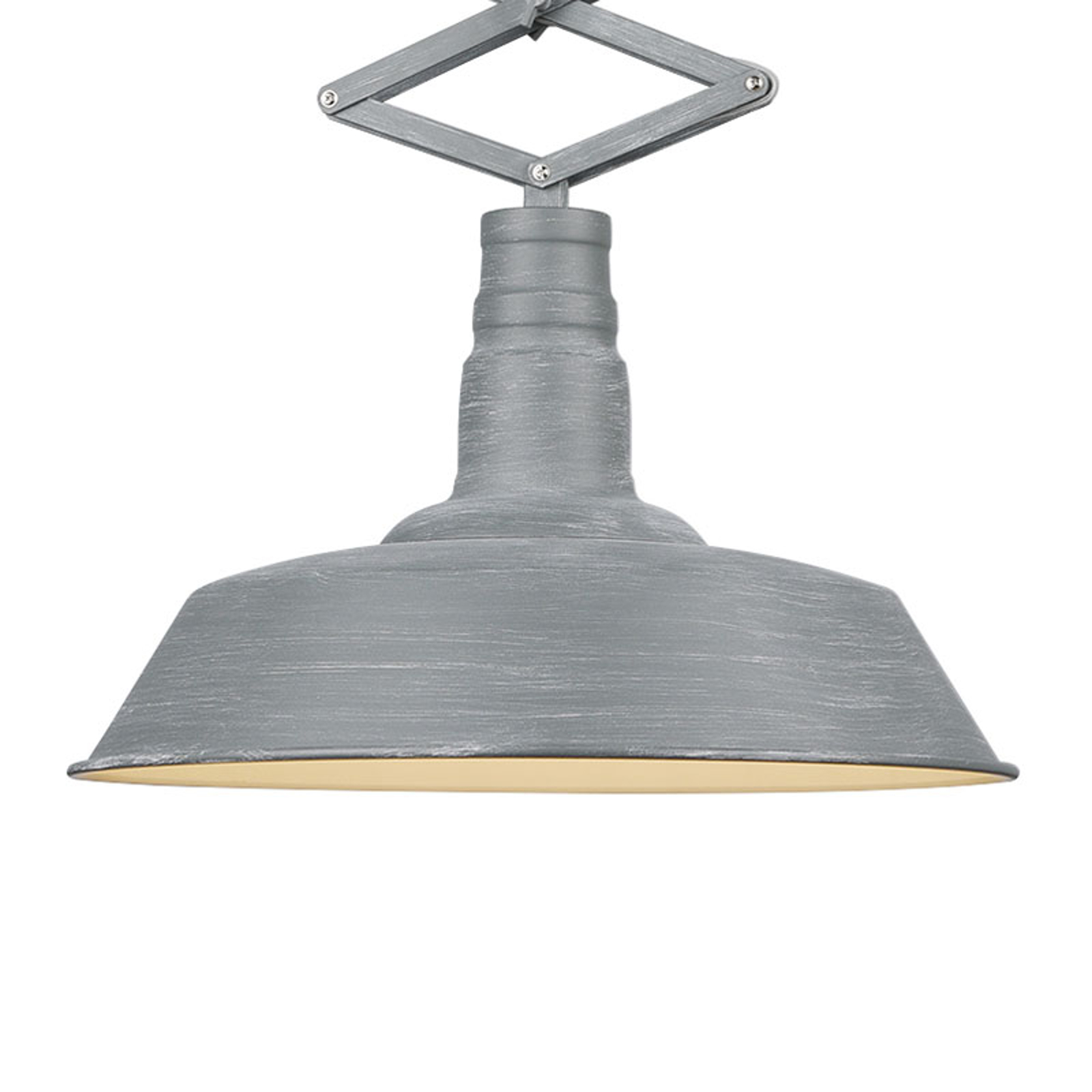 Lampa wisząca Detroit regulowana szary beton
