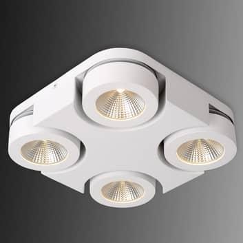 Vierkante LED plafondlamp Mitrax