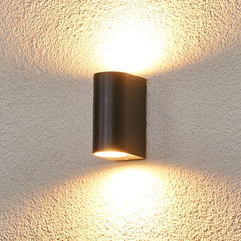 Beidseitig strahlende Außenwandlampe Palina