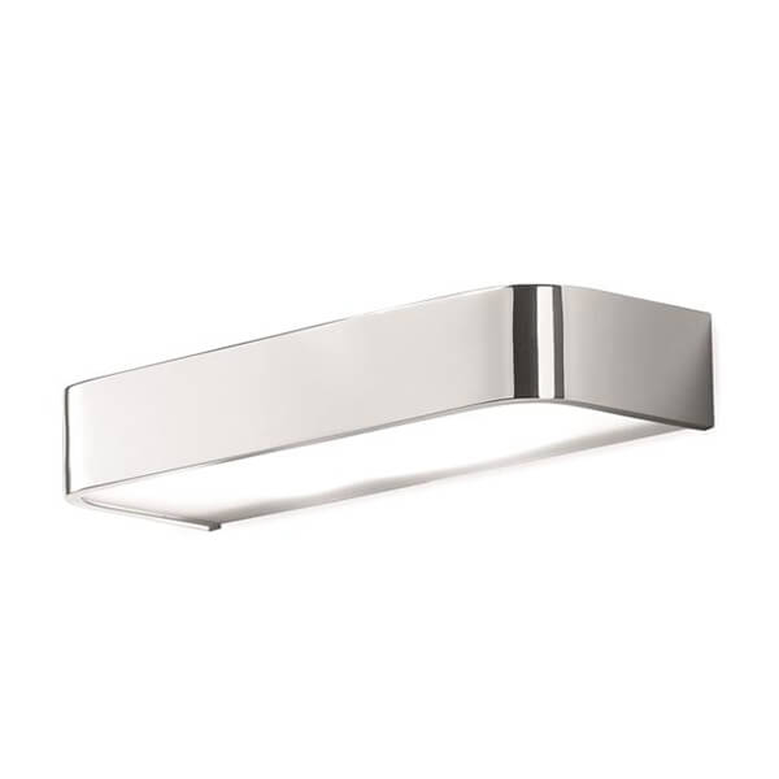 Applique da bagno Arcos con LED, 30 cm cromo