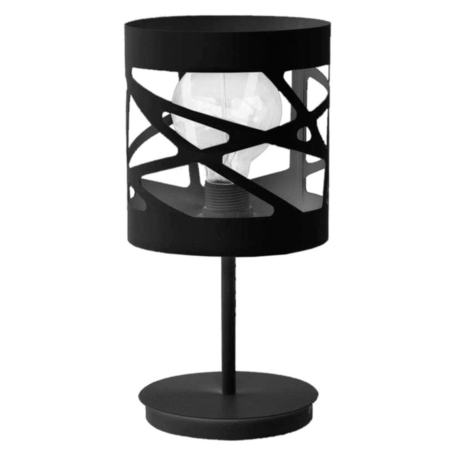 Tischlampe Modul Frez Musterschirm Ø17,5cm schwarz