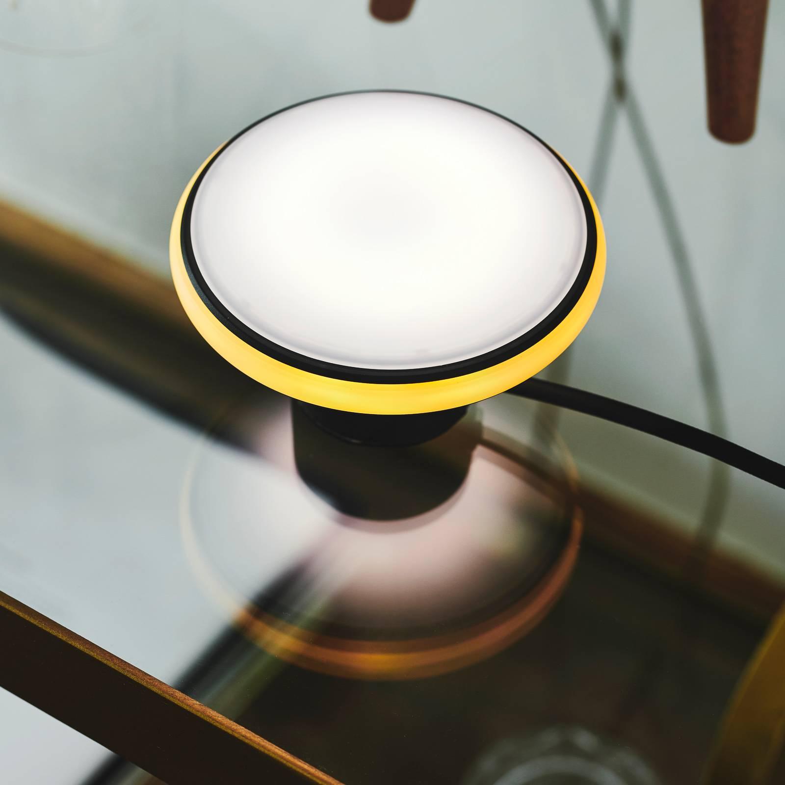 Shade ØS1 mini lampe à poser LED noire socle noir