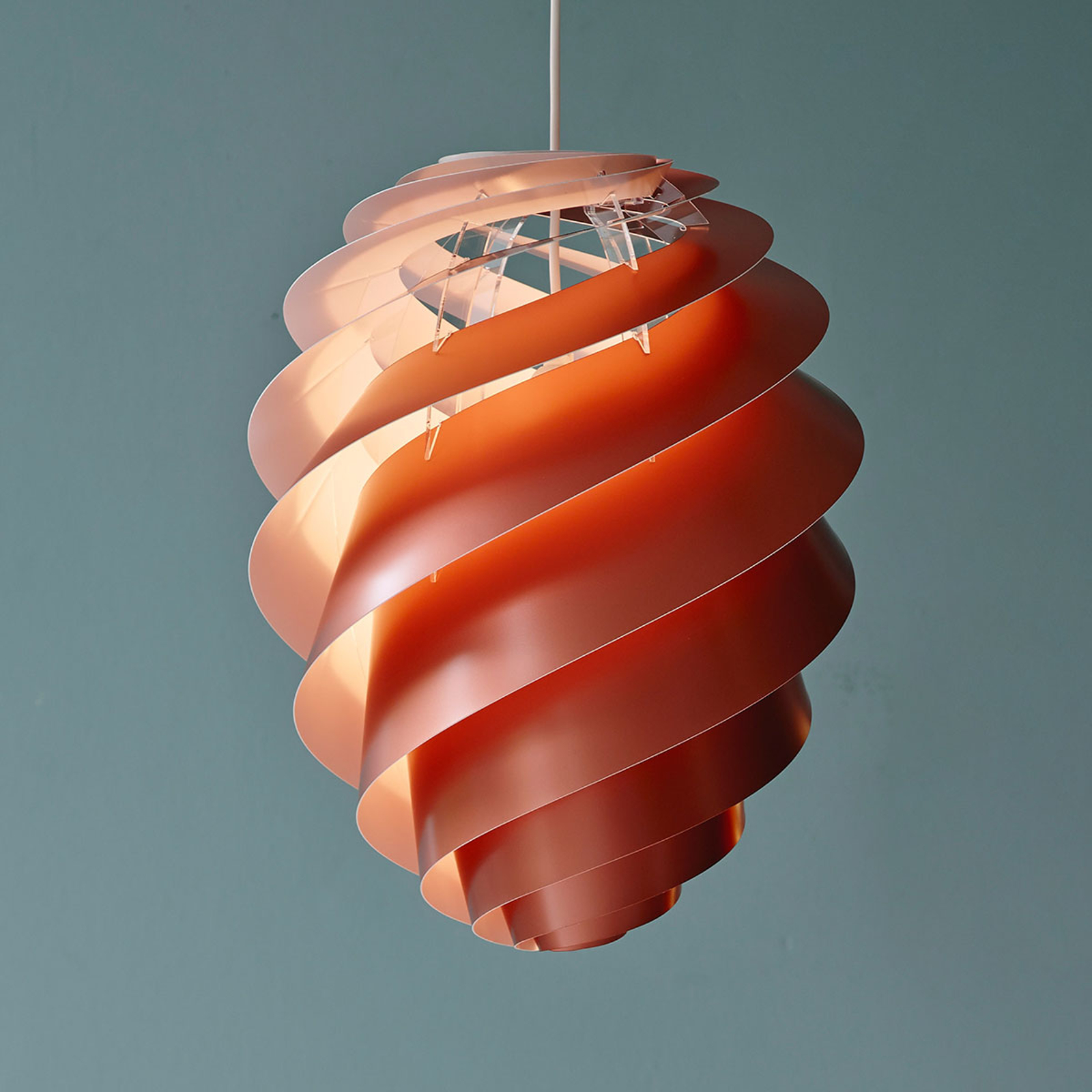LE KLINT Swirl 2 Medium - lampa wisząca, miedź