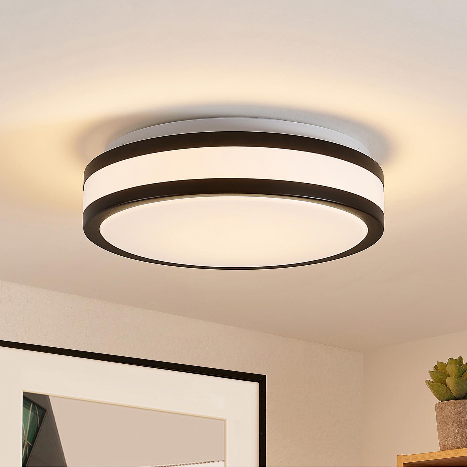 Lindby Teun LED-Deckenleuchte, rund, 29 cm