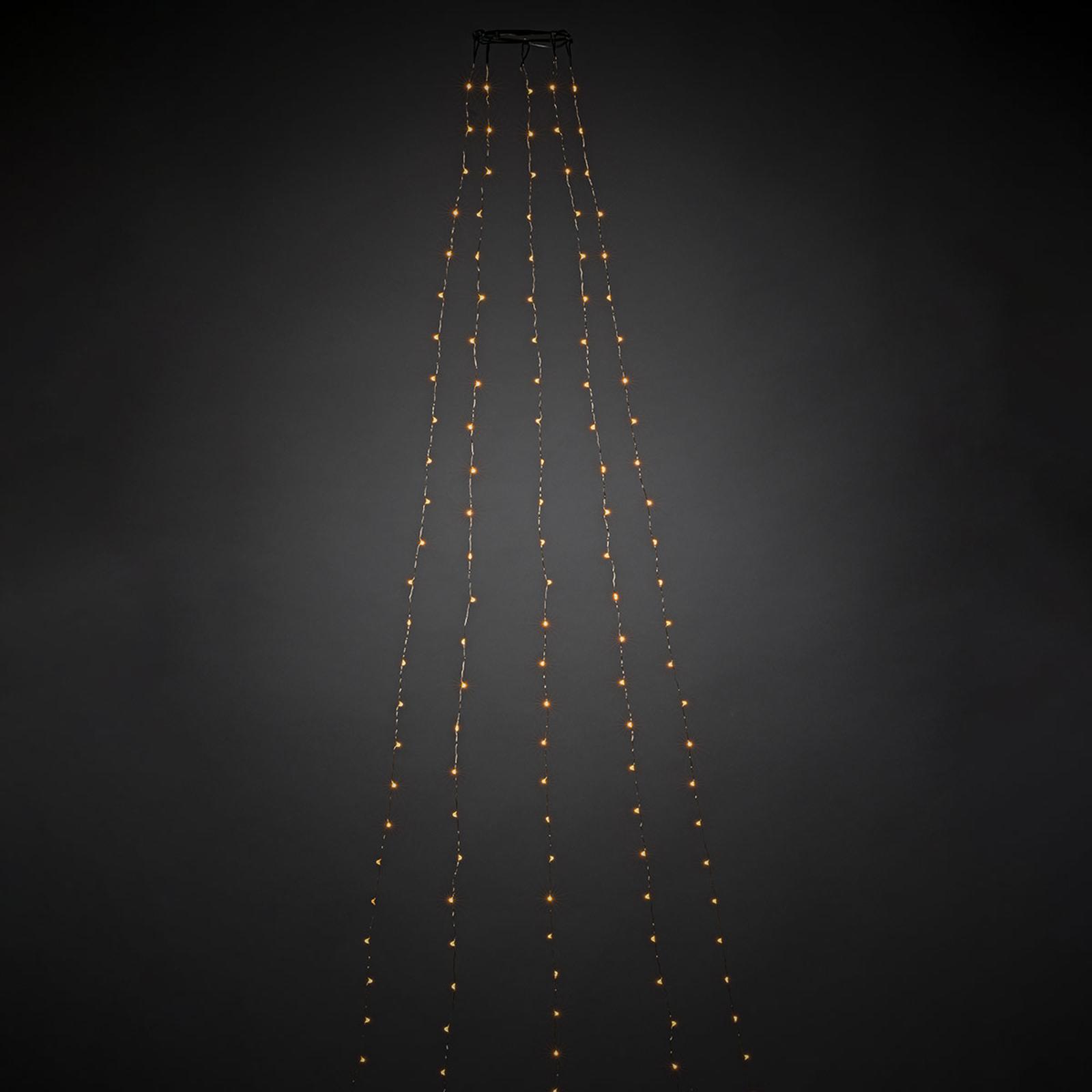 App-styrt, innendørs LED-lyskappe 180 lys