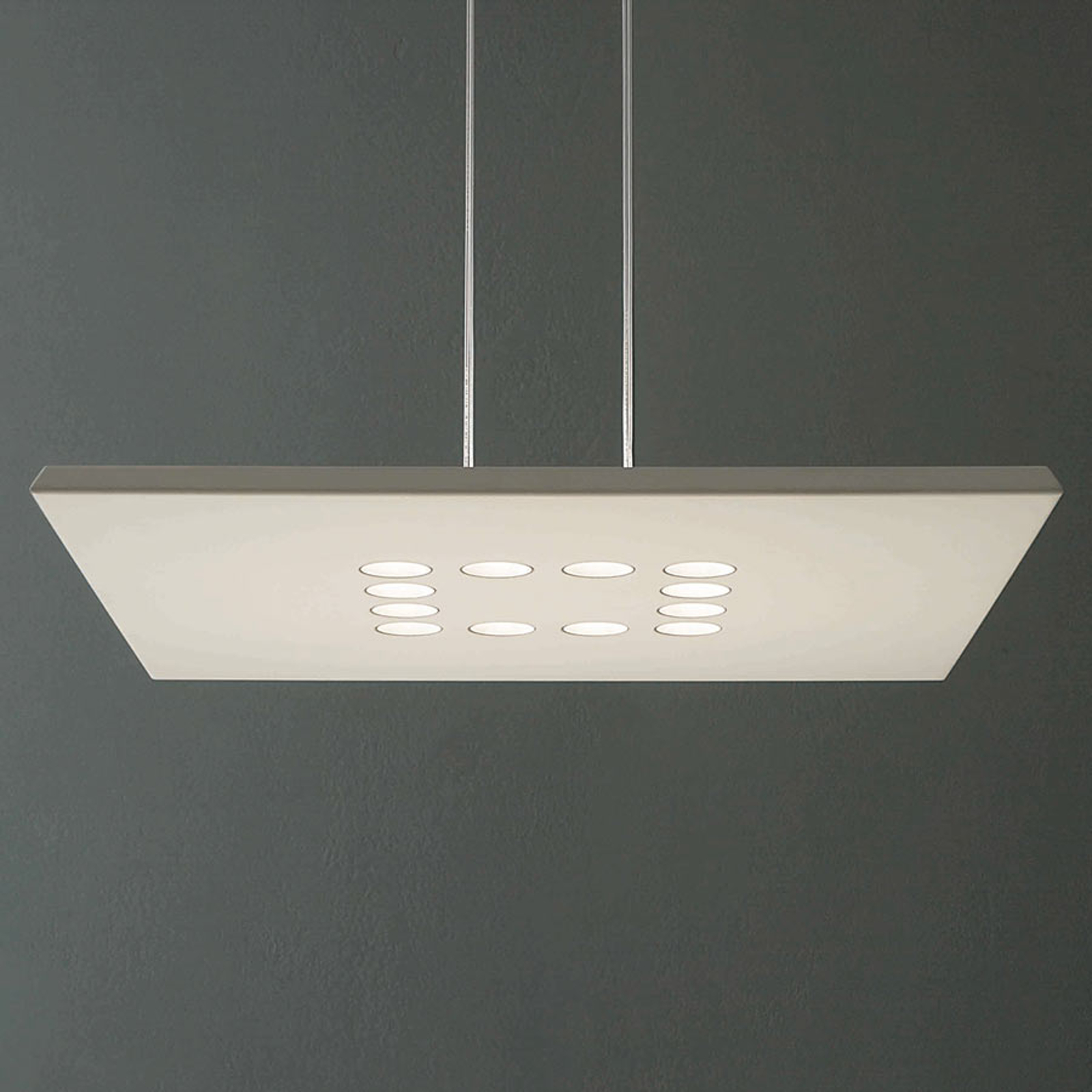 ICONE Confort LED hanglamp in edele Wit