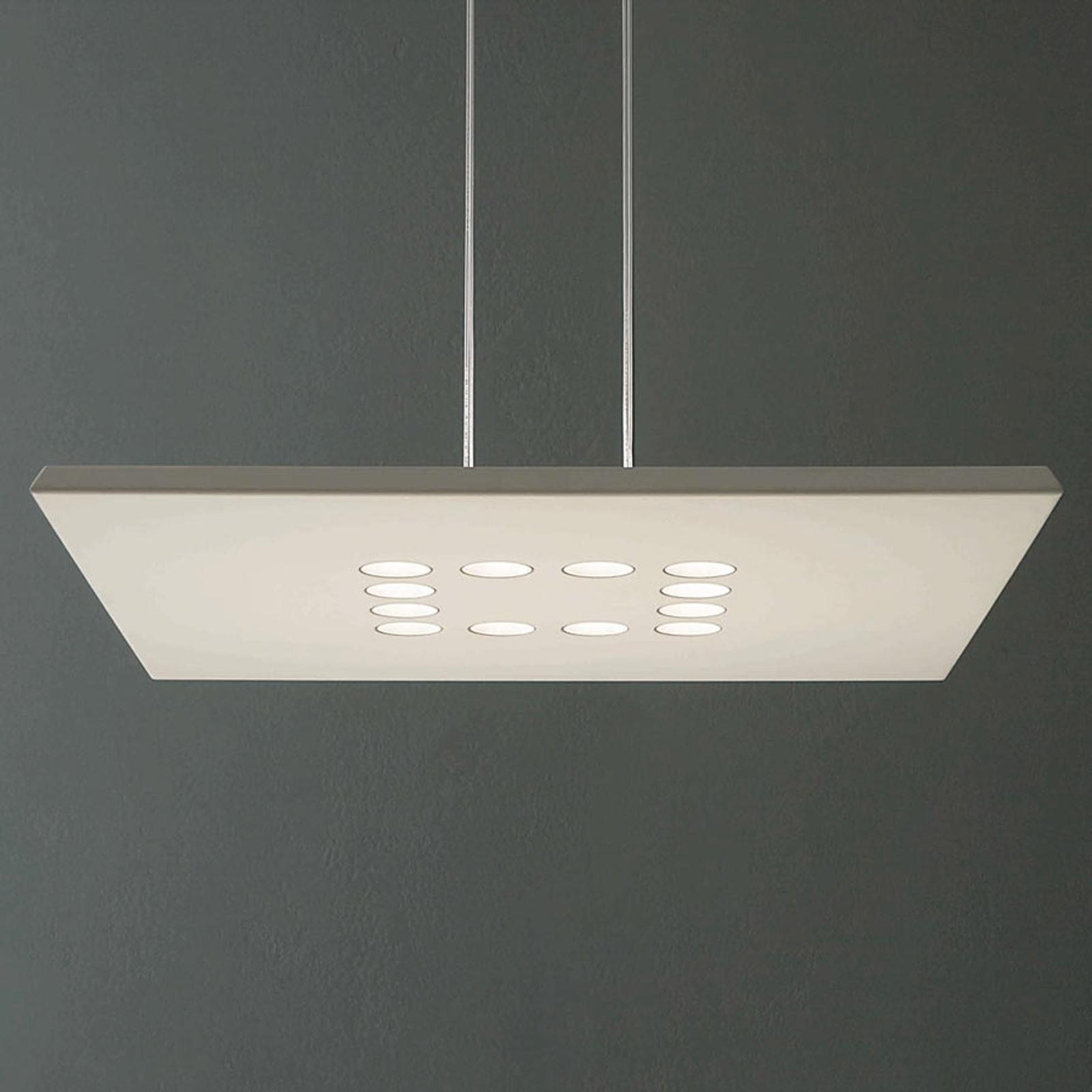 ICONE Confort lampa wisząca LED szlachetna biel