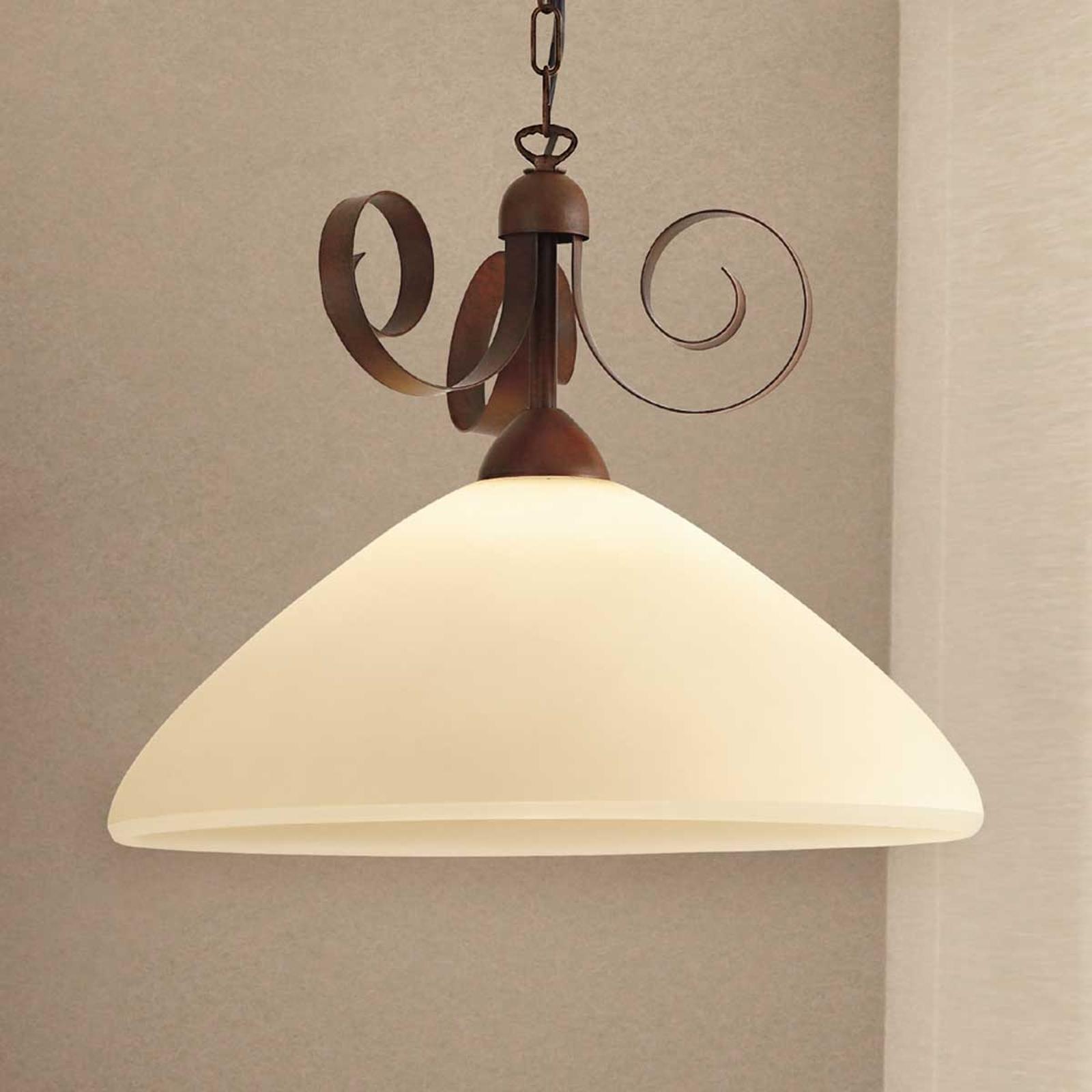 Lampa wisząca w stylu dworkowym Francesco